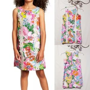 Lily Pulitzer Nosey Posey girls dress L(10/12)🆕🦄